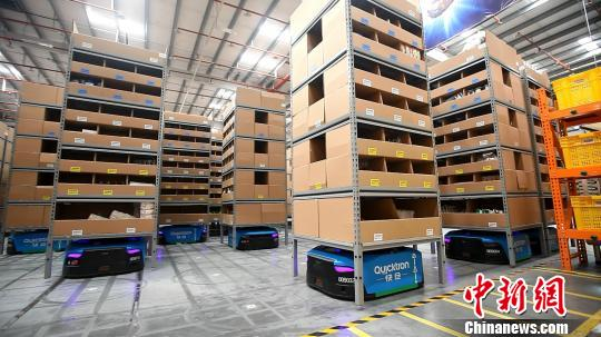 Robots to power Double 11 shopping spree