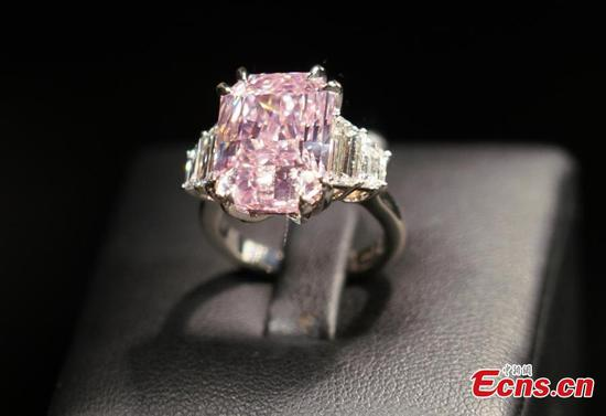 10-carat pink diamond could fetch $25 million at Sotheby's auction