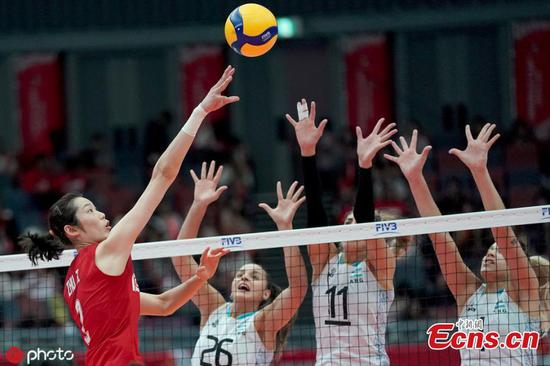 China wins FIVB Volleyball Women's World Cup