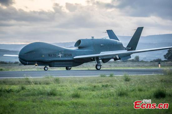 First NATO AGS remotely piloted aircraft lands in Italy