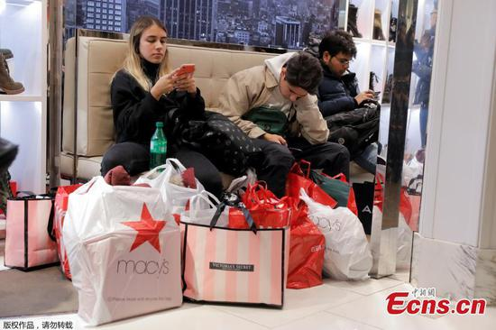 Black Friday shopping frenzy across America
