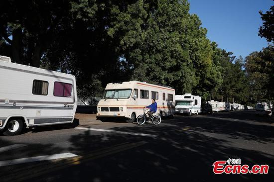 High rent forces many to live in motor homes in Silicon Valley