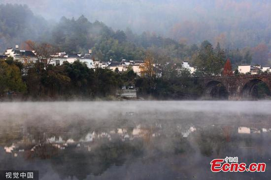Xin'an River offers wonderful views